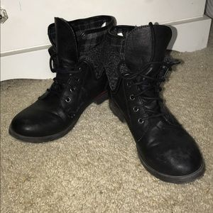 Rock and Candy combat boots